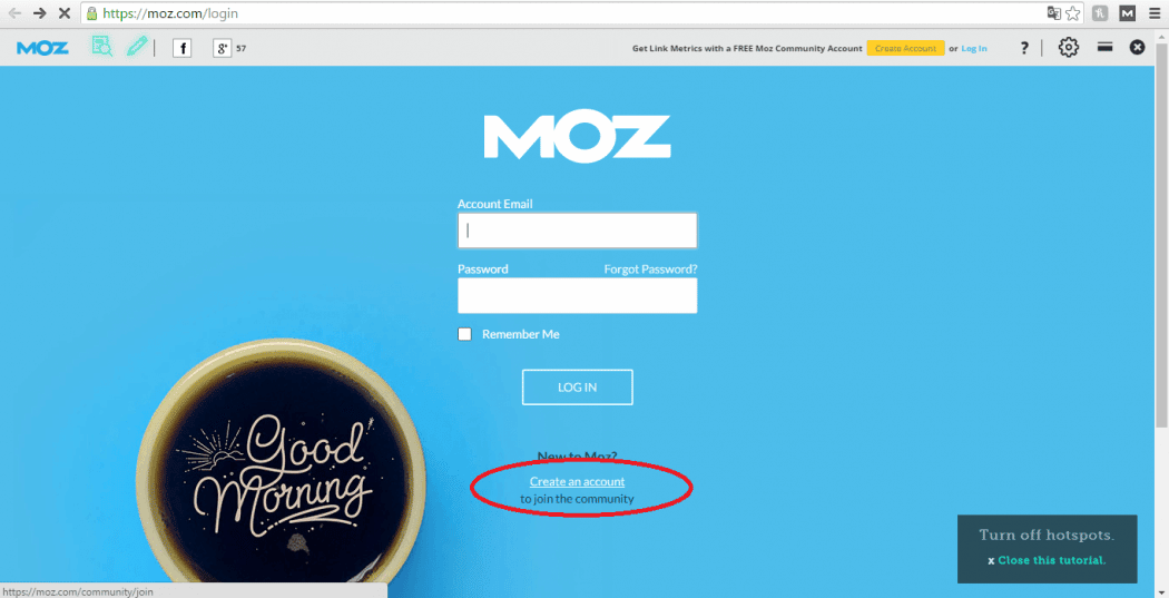 Herramienta Mozbar para estudiar a la competencia y superarla