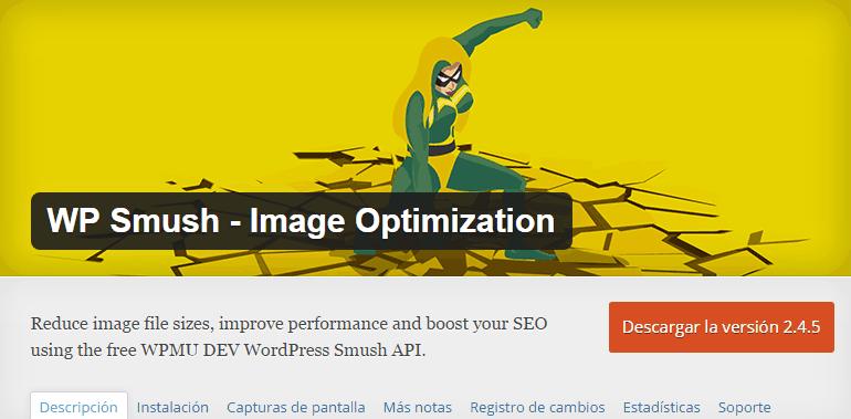 Wp smush-image optimization
