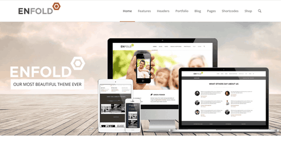 enfold plantilla wordpress themeforest