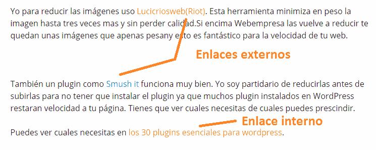 crear mejor distribución artículo wordpress
