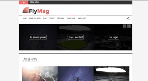flymag plantilla gratuita