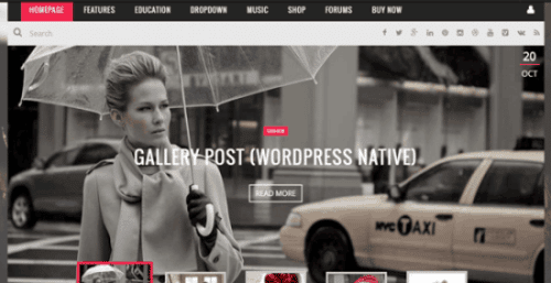 Kami tema wordpress themeforest