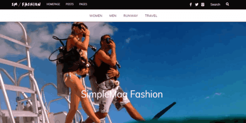 simple mag plantilla wordpress themeforest