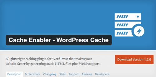 cache enabler woprdpress cache