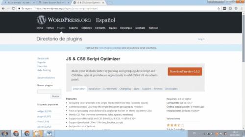 plugin js css script optimizer