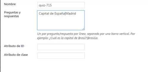cuestionario contact form