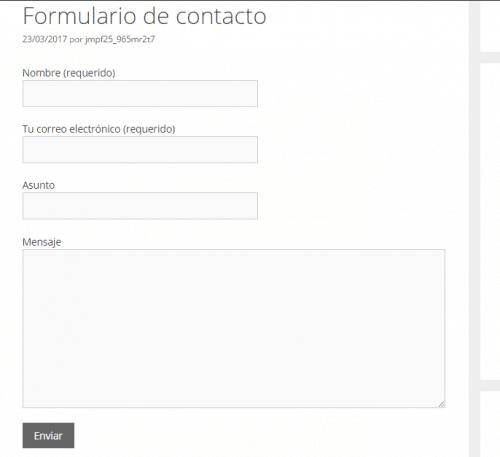 como instalar el formulario personalizado contact form 7
