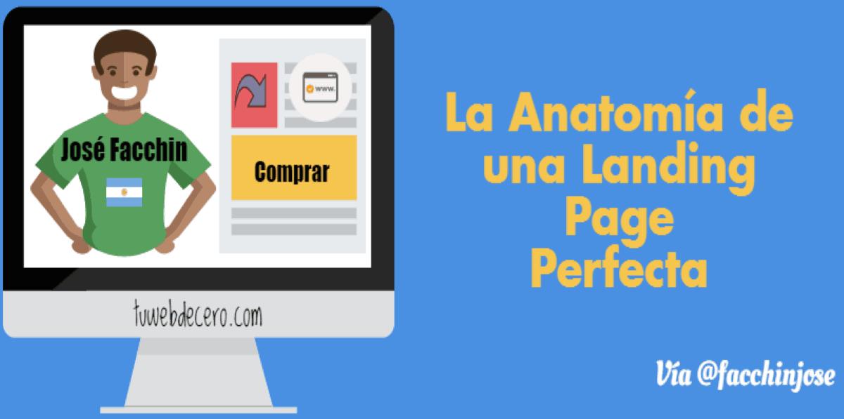 Landing Page: Anatomía de una Landing Page perfecta(Infografía)