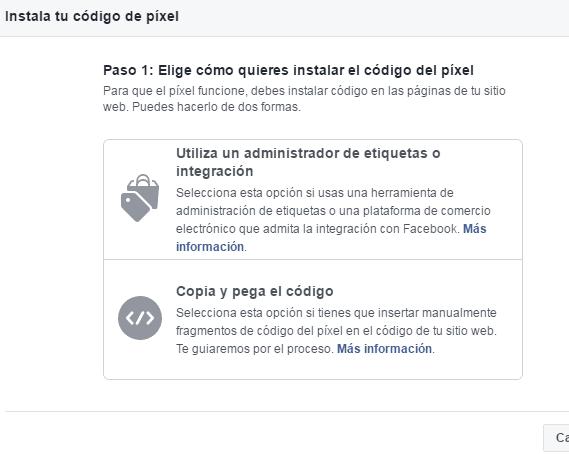 pixel de facebook ads