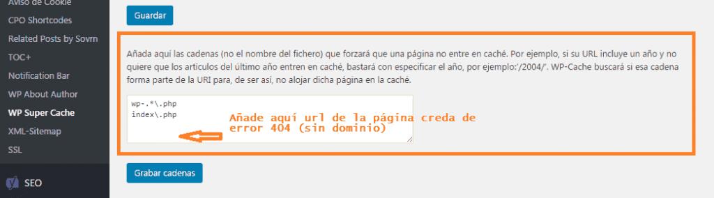 como se utiliza el plugin 404 page