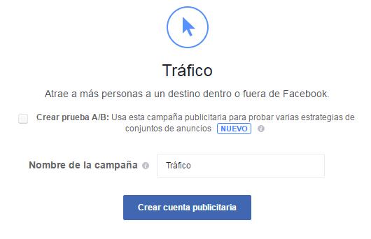 trafico de facebook