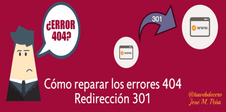 errores 404
