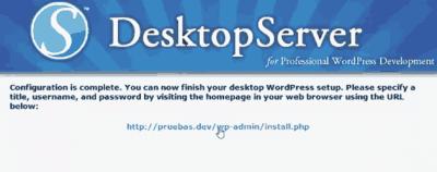 instalacion de wordpress en local