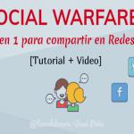 Social Warfare: El plugin para compartir en redes sociales más completo