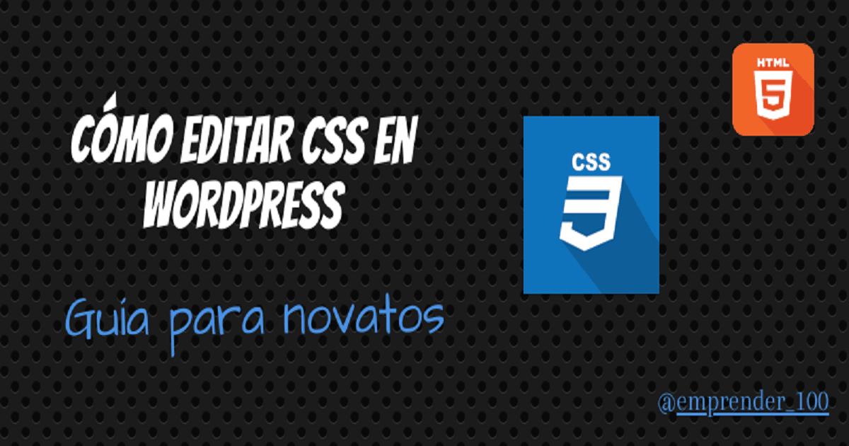CSS para WordPress: Guía para novatos