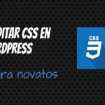Como editar el estilo CSS en WordPress – Guía para novatos
