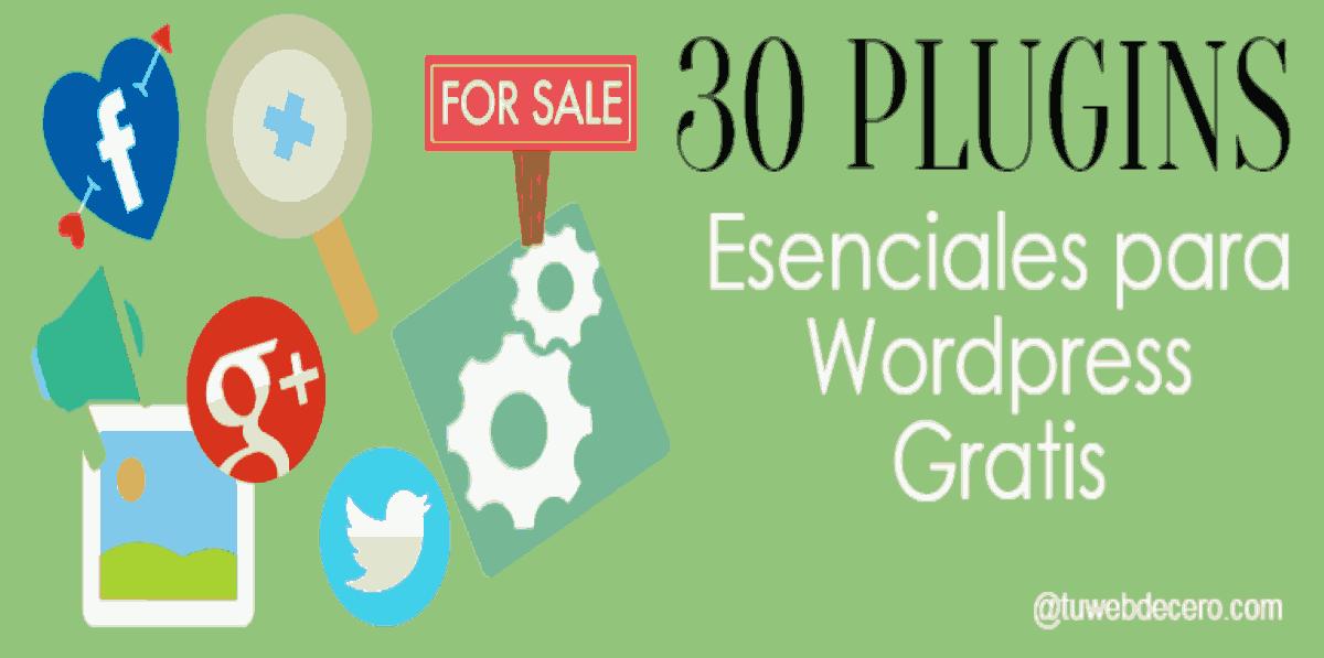 mejores plugins para wordpress