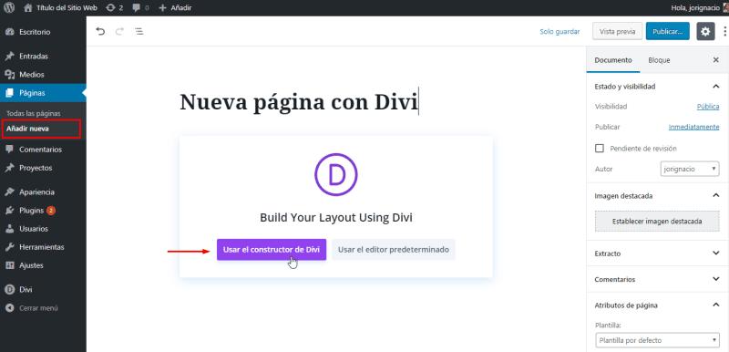 crear-pagina-divi